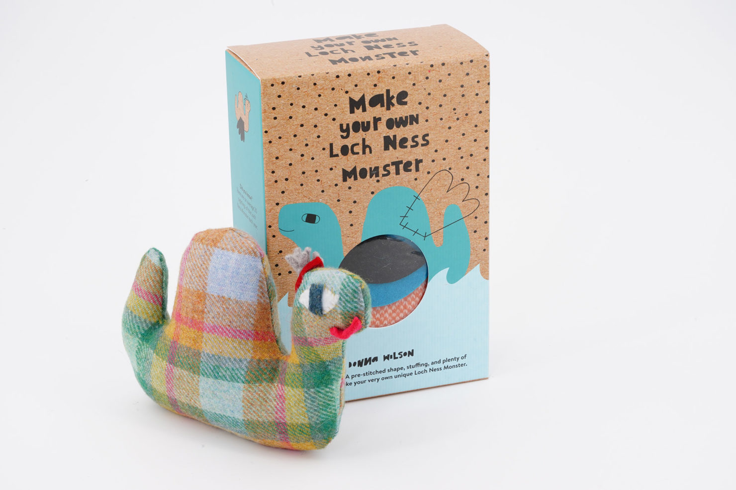 MAKE YOUR OWN MONSTER LOCHNESS KIT