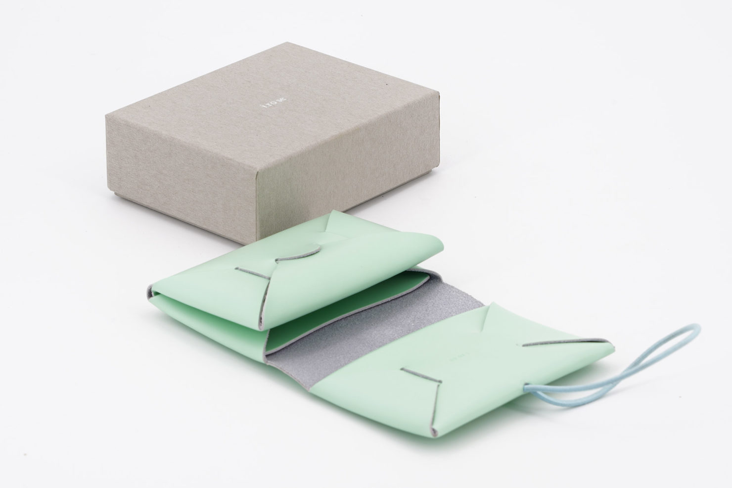 SEAMLESS MINI WALLET MINT I ROSE