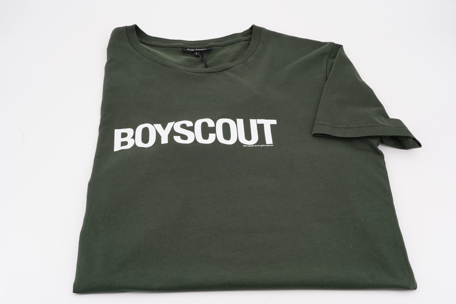 T-SHIRT BOYSCOUT SERGENT GREEN - RON DORFF