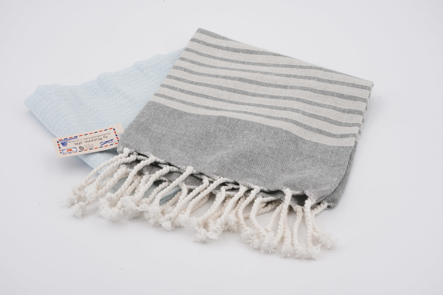 TOWEL DUSTY BLUE 50X94 HOME THINGS BY ROOM