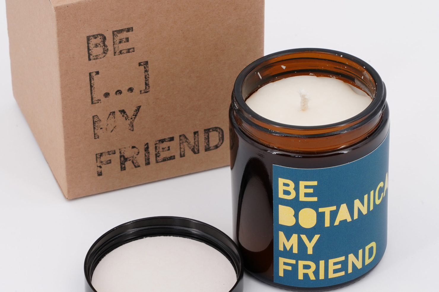 BE LIT&SCENT MY FRIEND BOTANICAL 180ML OPEN BE MY FRIEND