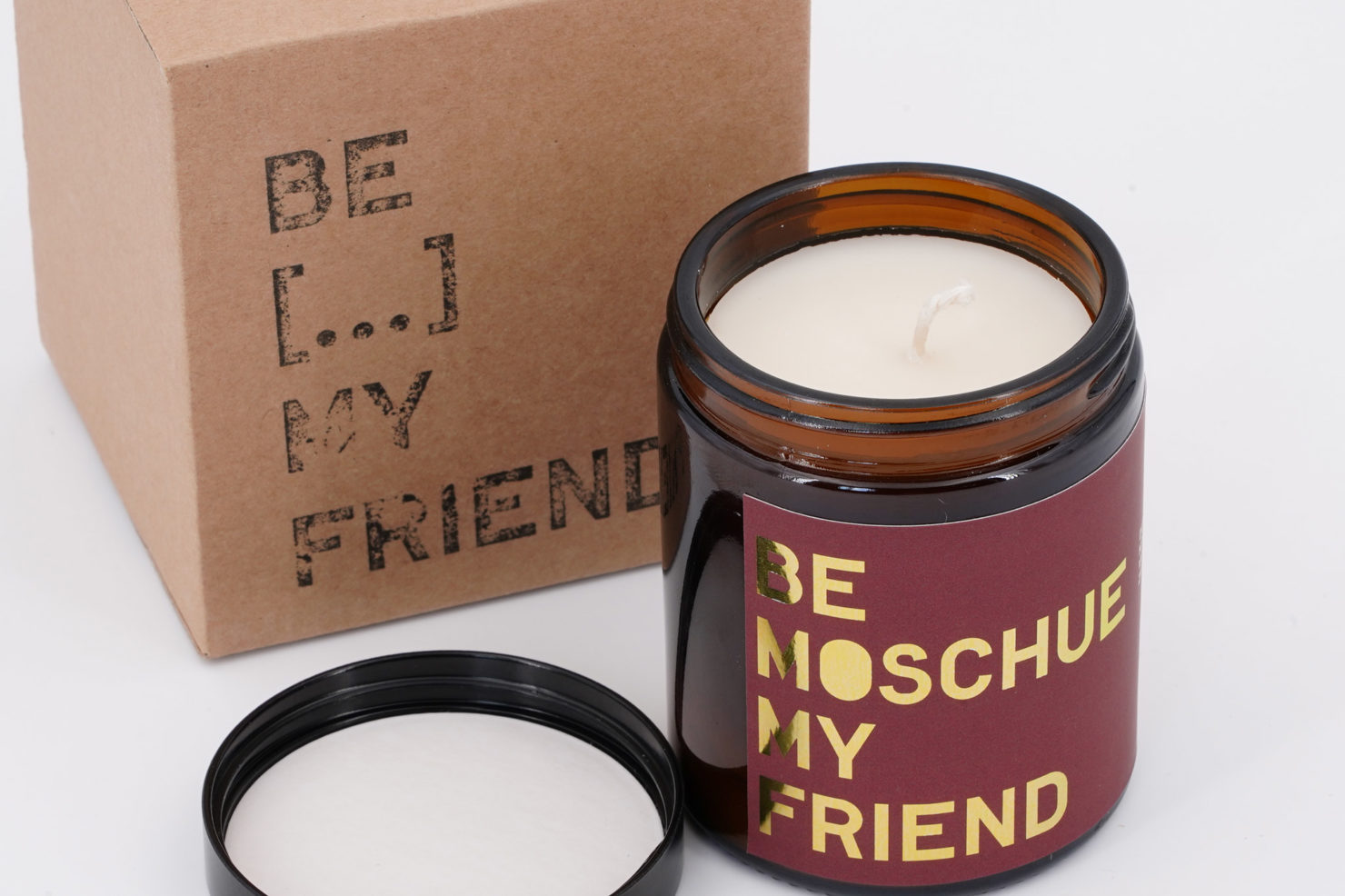 BE LIT&SCENT MY FRIEND MOSCHUE 180ML OPEN BE MY FRIEND