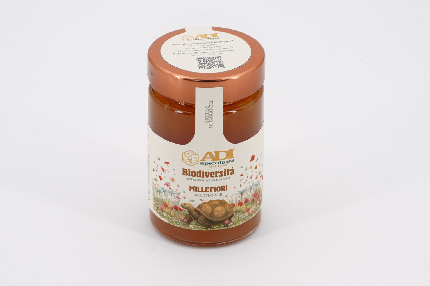 """BIODIVERSITA"" WILDFLOWER ORGANIC HONEY 250 GR"
