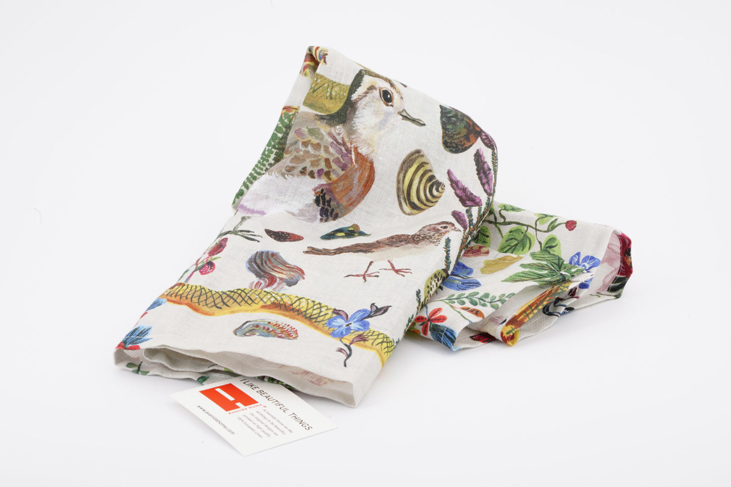 BIRDS IN THE DUNES KITCHEN AND TABLE LINENS BY NATHALIE LETE 70X50 AVENIDA HOME