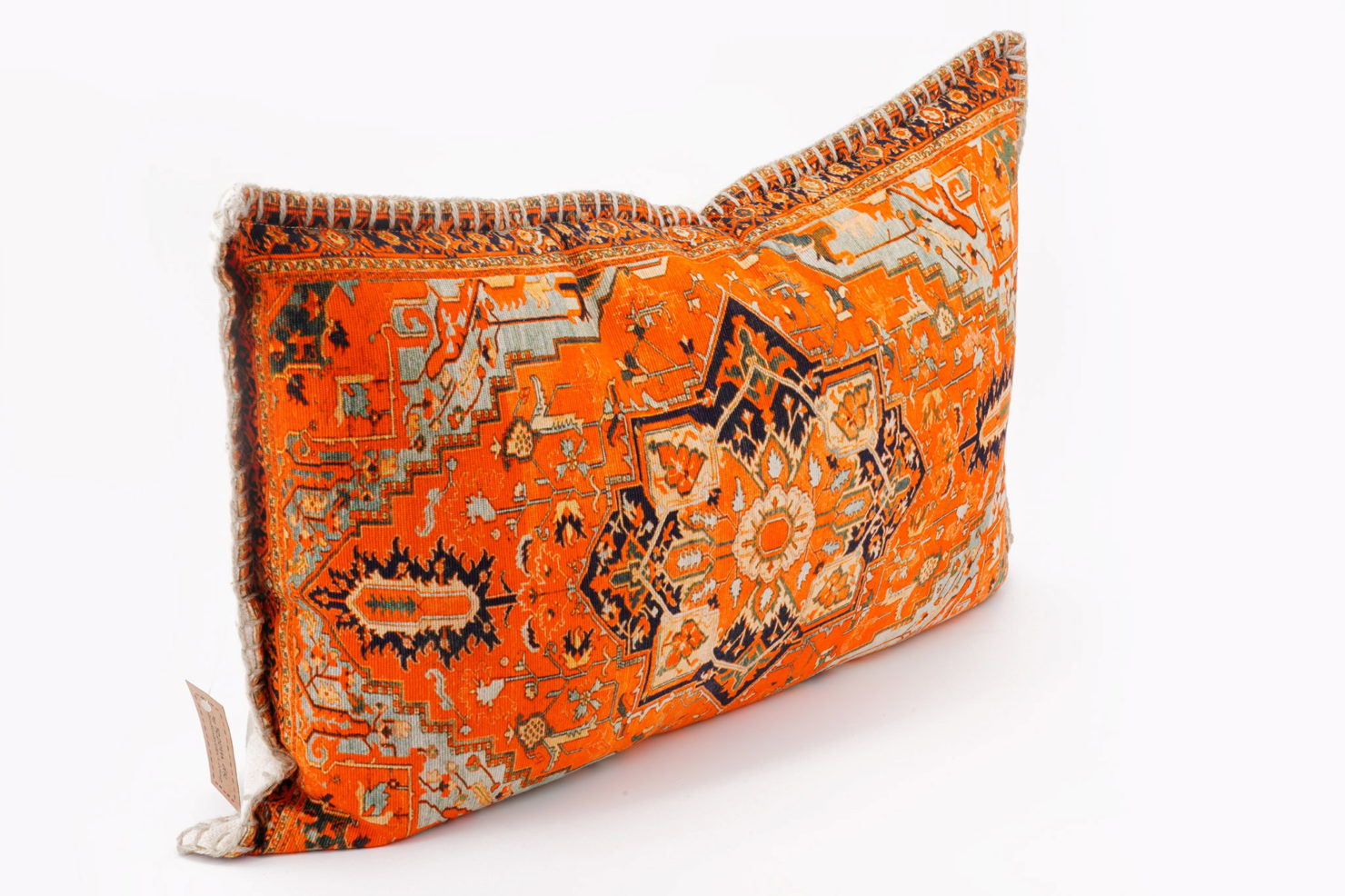 CUSHION ORANGE PRINT 40X60 BY ROOM