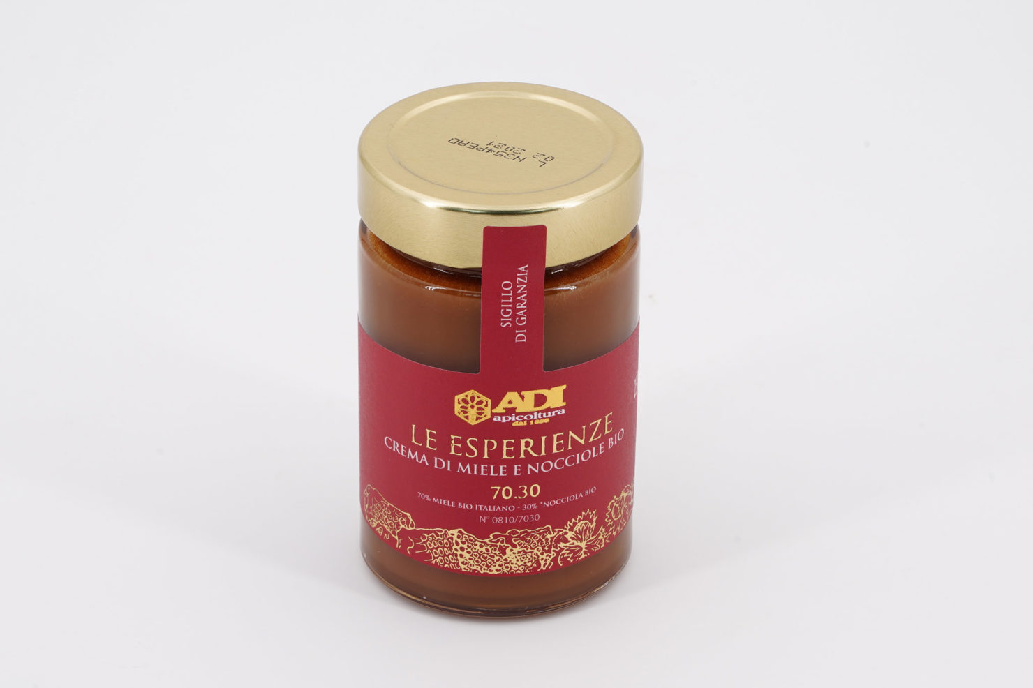 """LE ESPERIENZE"" ORGANIC CREAM OF HONEY AND HAZELNUTS 250 GR"