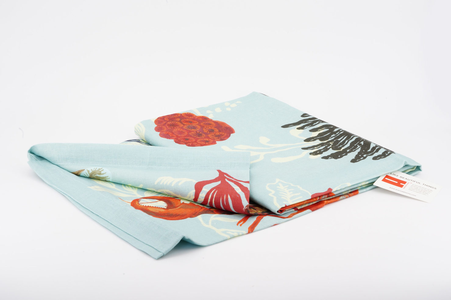 LOBSTER KITCHEN & TABLE LINENS BY NATHALIE LETE 150X200 AVENIDA HOME