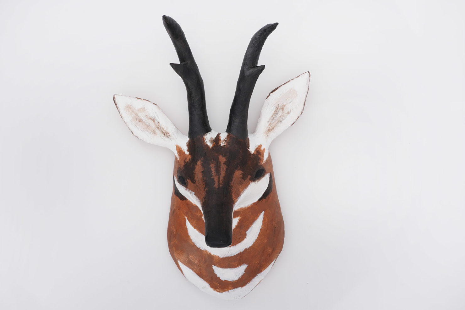 PAPER MACHE SCULPTURE PRONGHORN