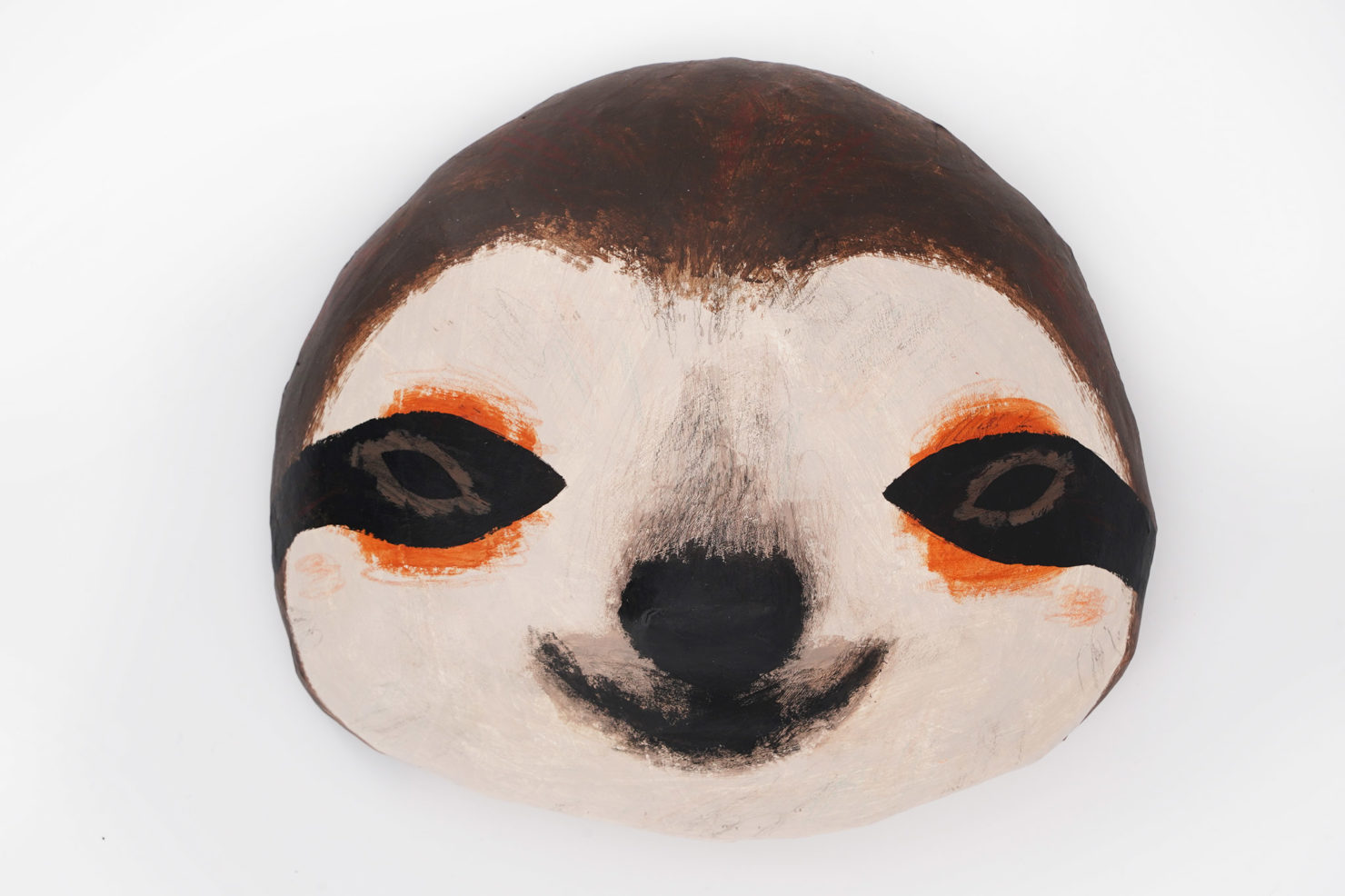 PAPER MACHE SCULPTURE-SLOTH ABIGAIL BROWN