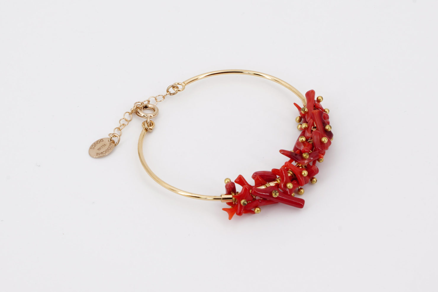 SANTORIN BANGLE MAXI RED - MEDICINE DOUCE