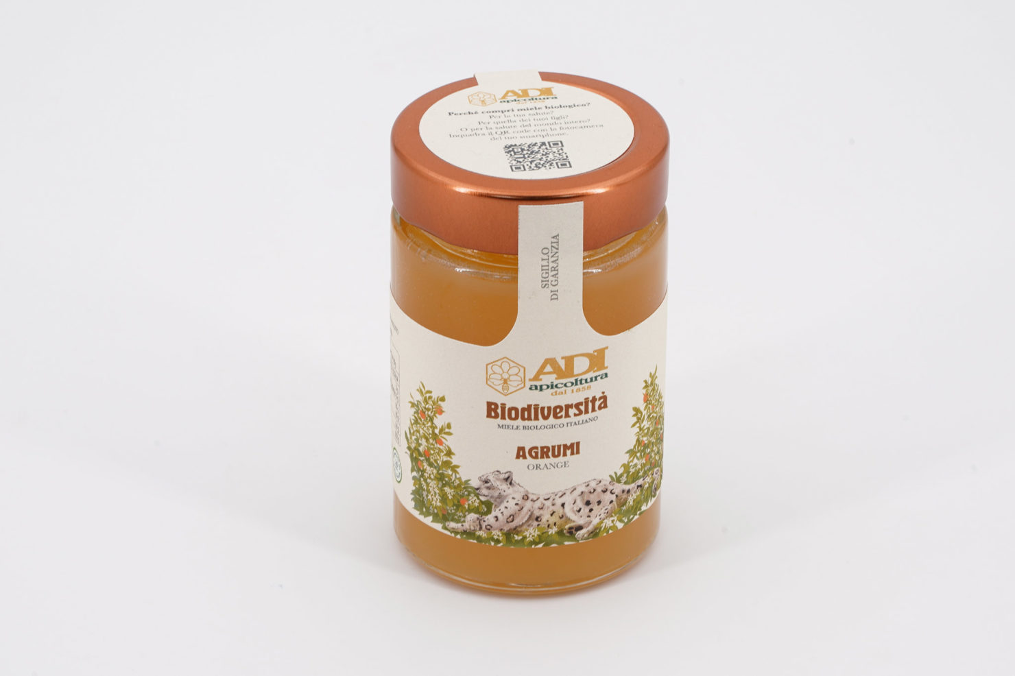 """BIODIVERSITA"" CITRUS FRUIT ORGANIC HONEY 250 GR"