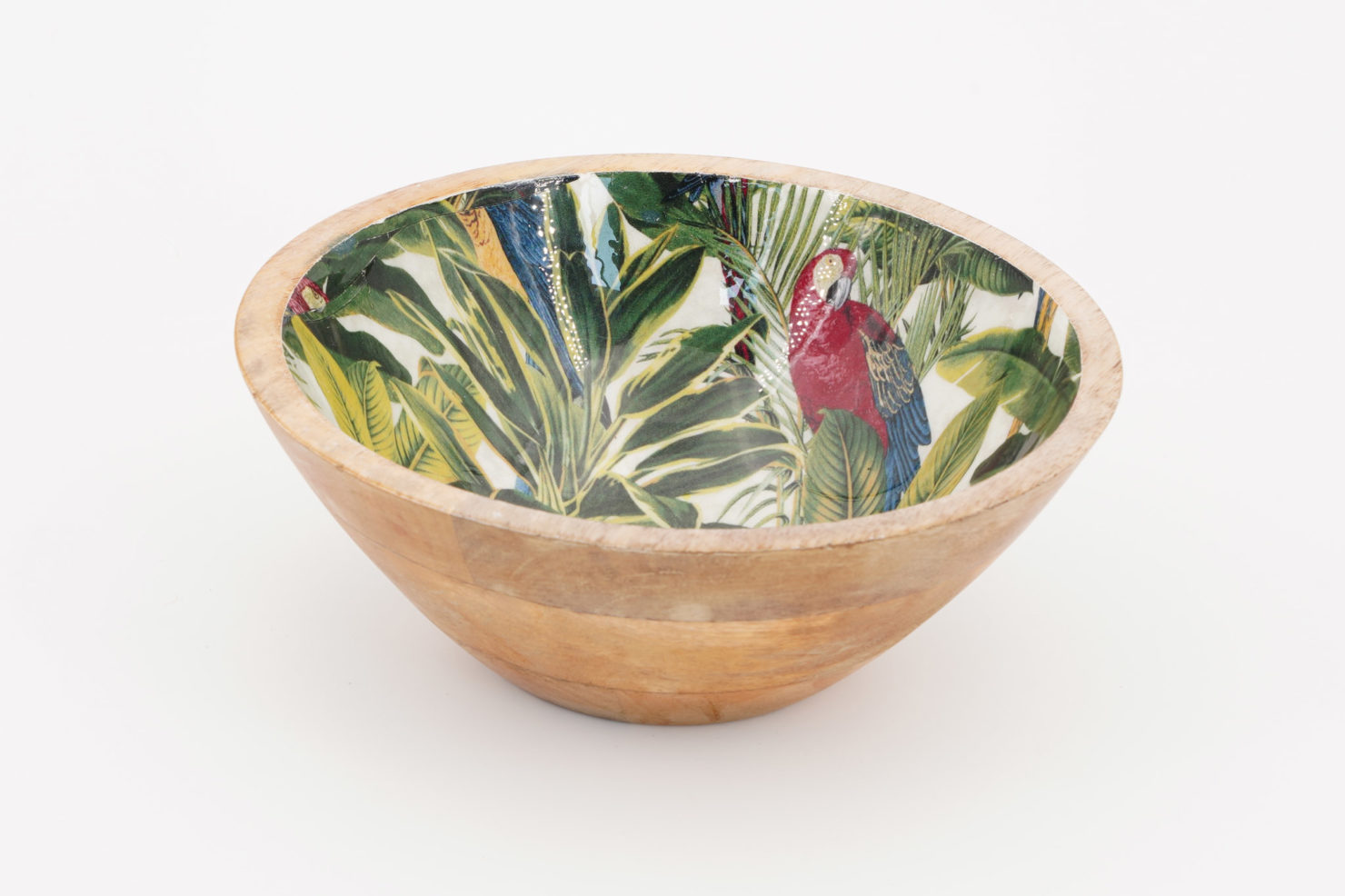 BOWL PARROT MULTI COLOR MANGO 18 CM - BY ROOM