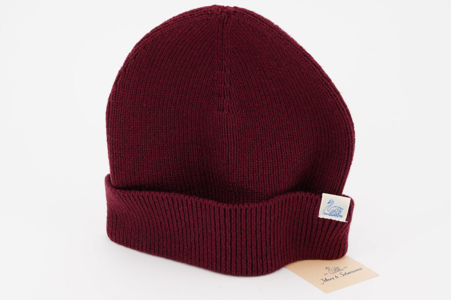 RED OAK WOOL CAP - MERZ B. SCHWANEN