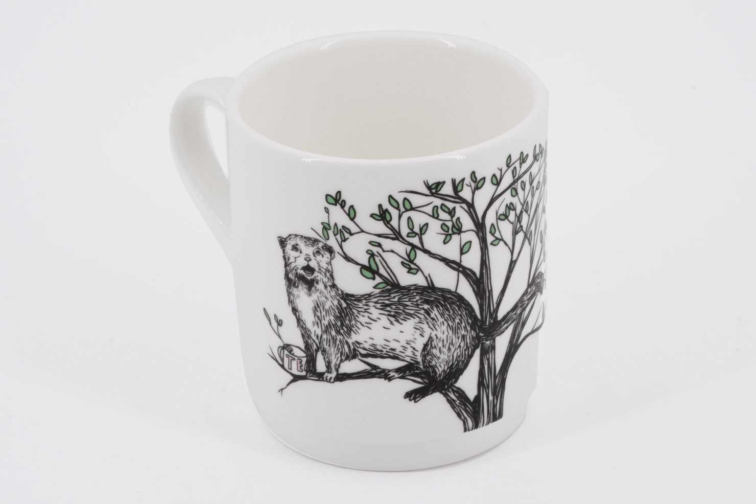 STACKING TREE CUP-BUSH BABY (OTTER) - JIMBOBART