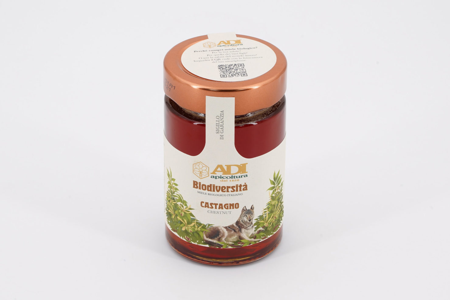 """BIODIVERSITA"" CHESTNUT ORGANIC HONEY 250 GR"