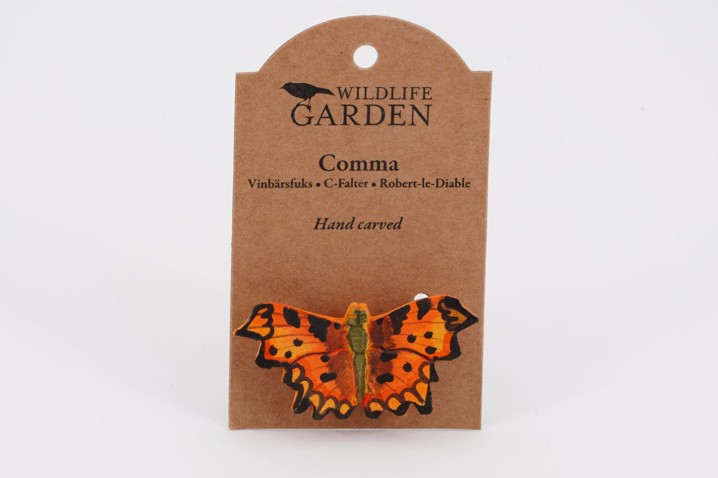 MAGNET DECOBUTTERFLY COMMA - WILDLIFE GARDEN