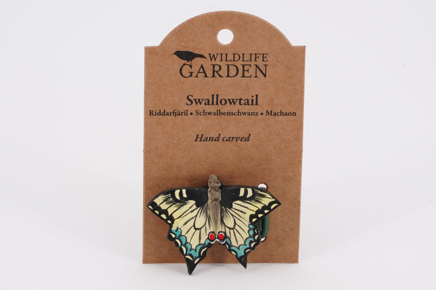 MAGNET DECOBUTTERFLY SWALLOWTAIL - WILDLIFE GARDEN