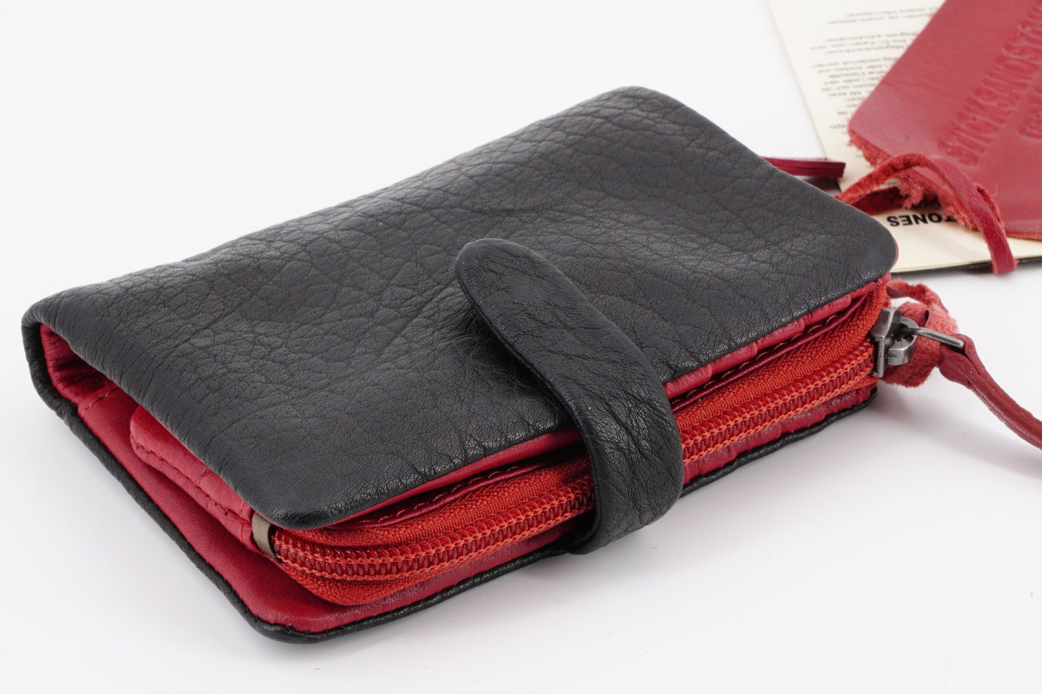 LAGUNA WALLET - BUFF WASHED BLACK - STICKSANDSTONES