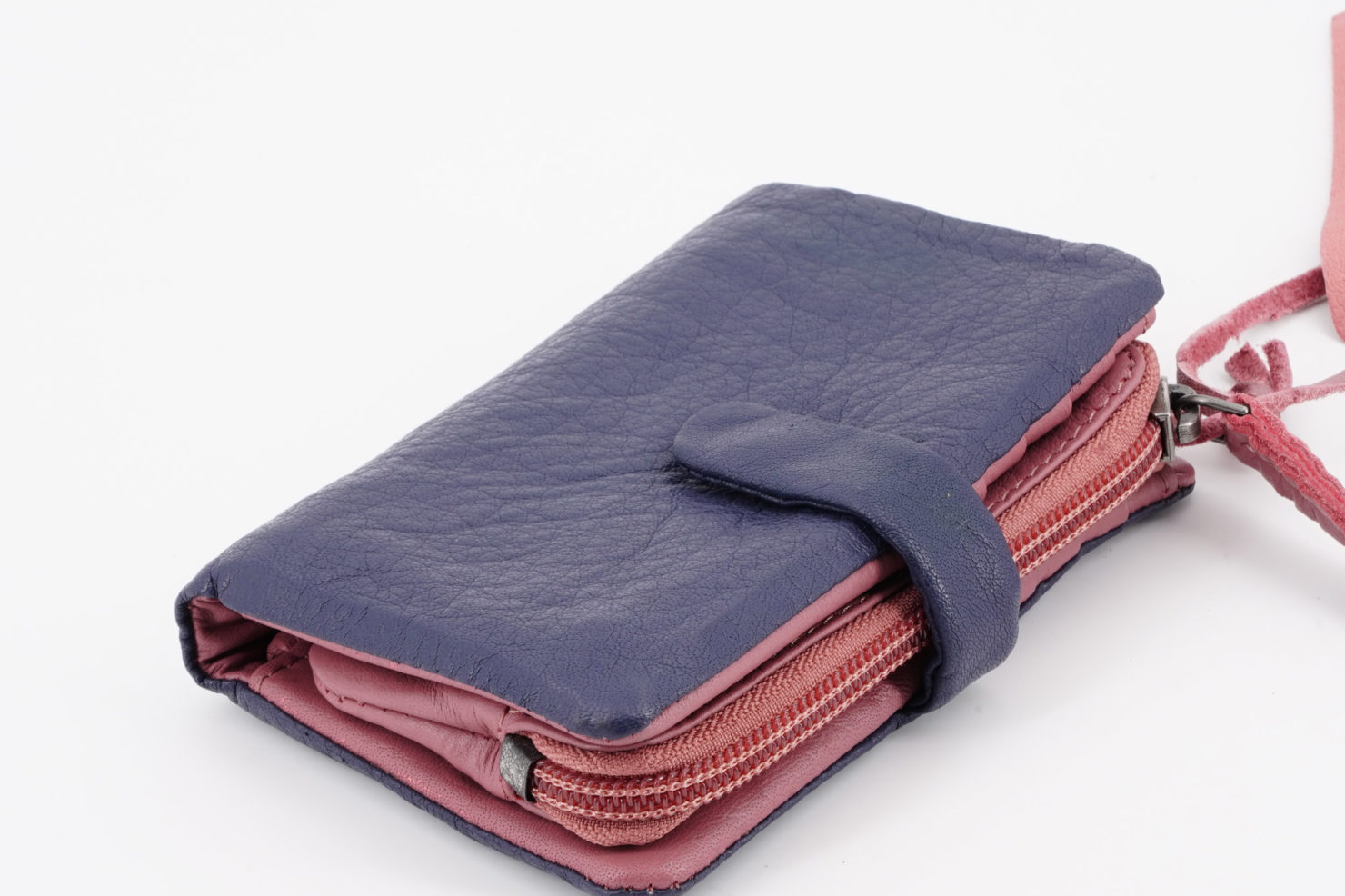 LAGUNA WALLET - BUFF WASHED SHADOW PURPLE - STICKSANDSTONES