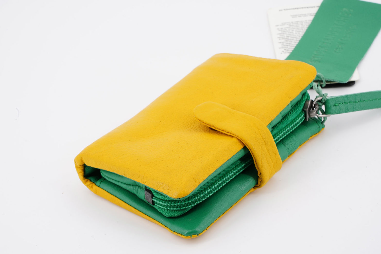 LAGUNA WALLET - BUFF WASHED YELLOW - STICKSANDSTONES