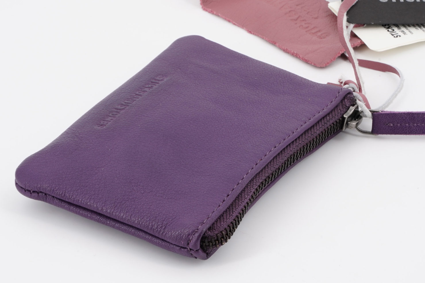 NICE WALLET- BUFF WASHED SHADOW PURPLE- STICKSANDSTONES