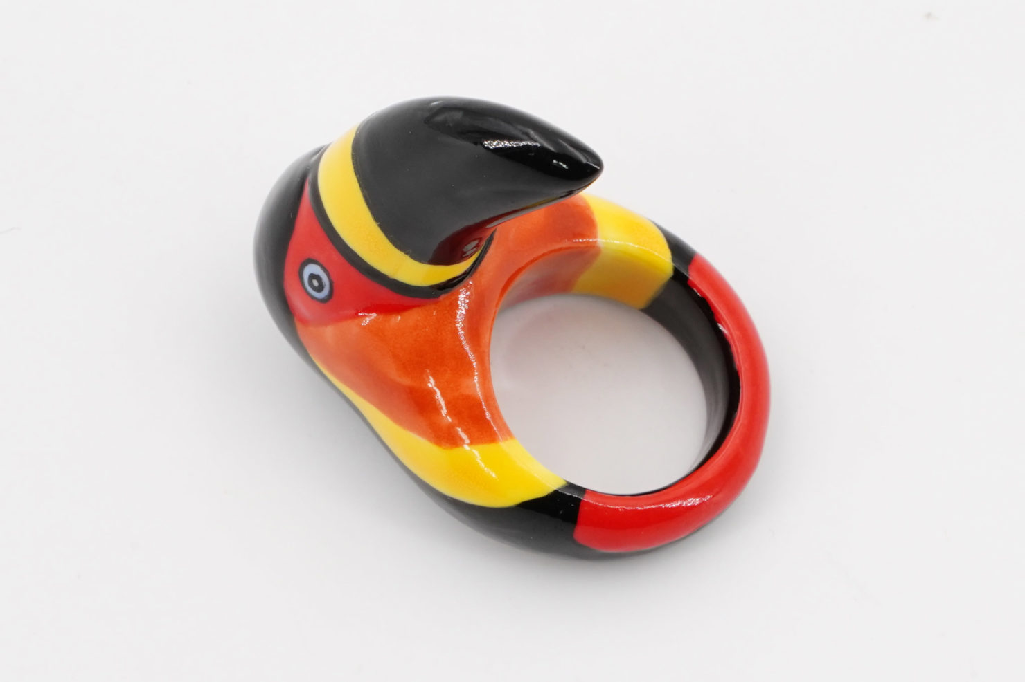 BLACK TOUCAN RING - NACH