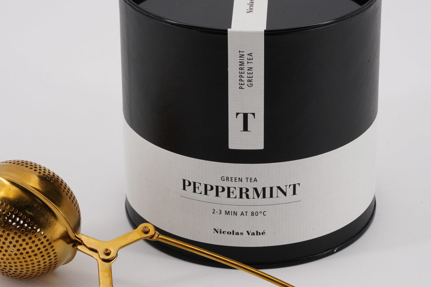 GREEN TEA, PEPPERMINT, 100 GR - NICOLAS VAHE