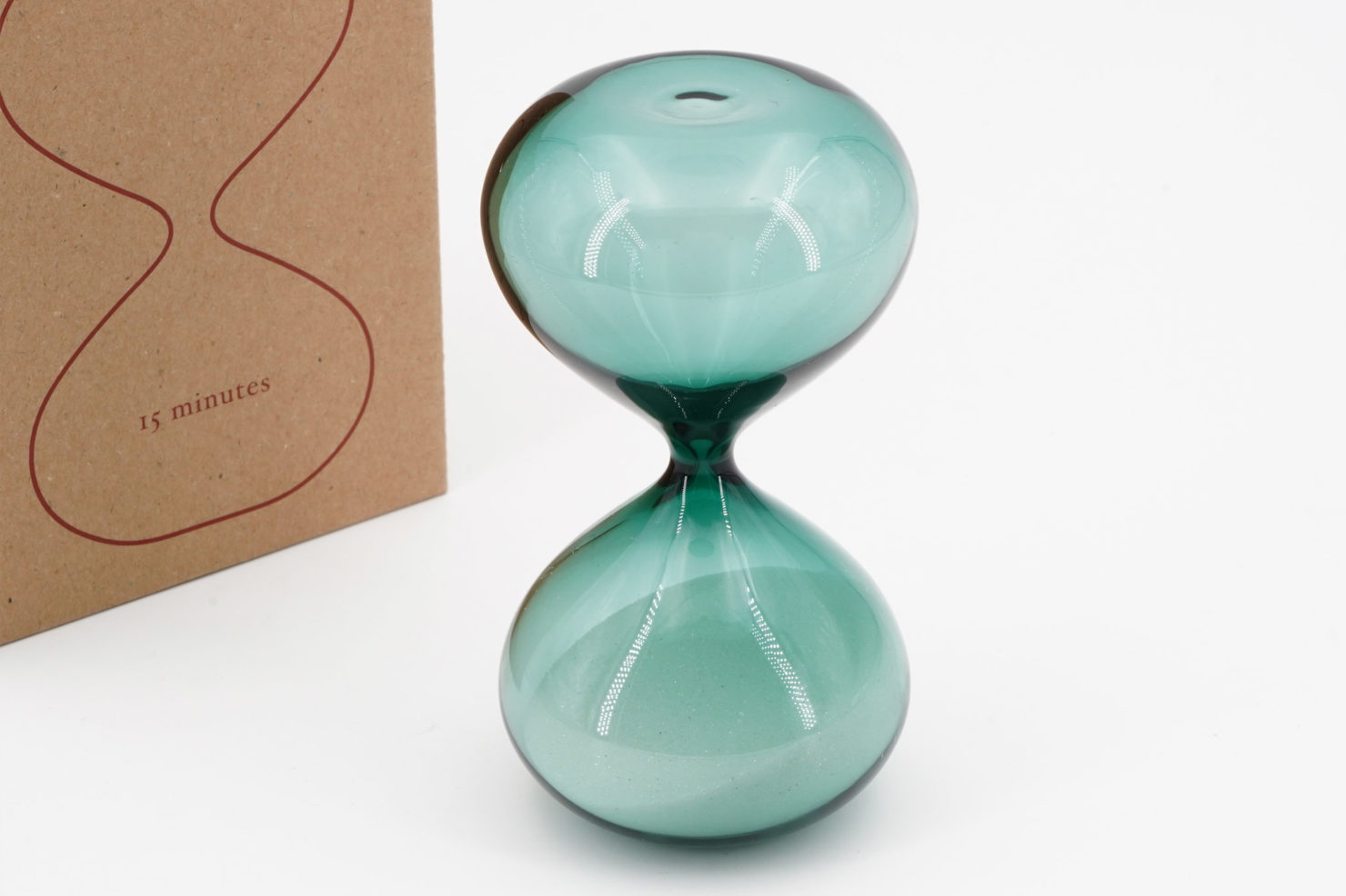 HIGHTIDE HOURGLASS L TURQUOISE