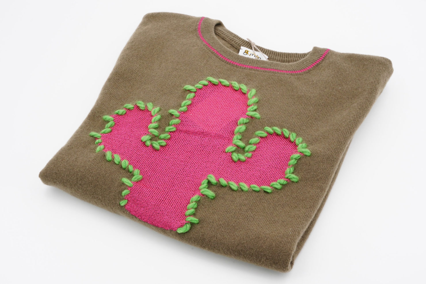 CACTUS SWEATER BROWN