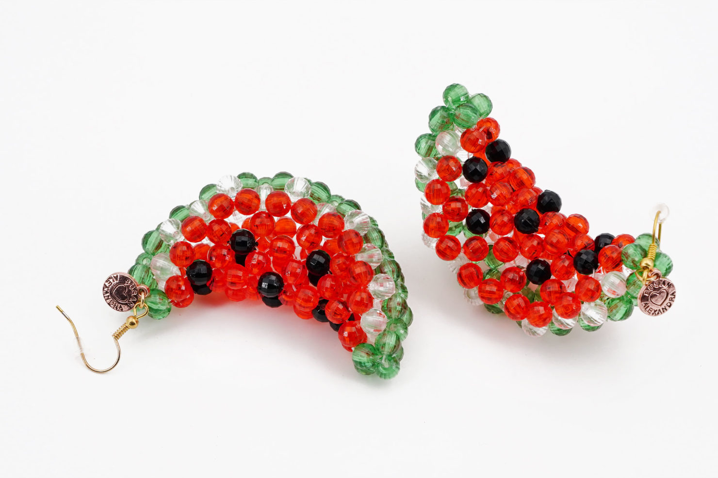 WATERMELON ICEY EARRINGS - SUSAN ALEXANDRA