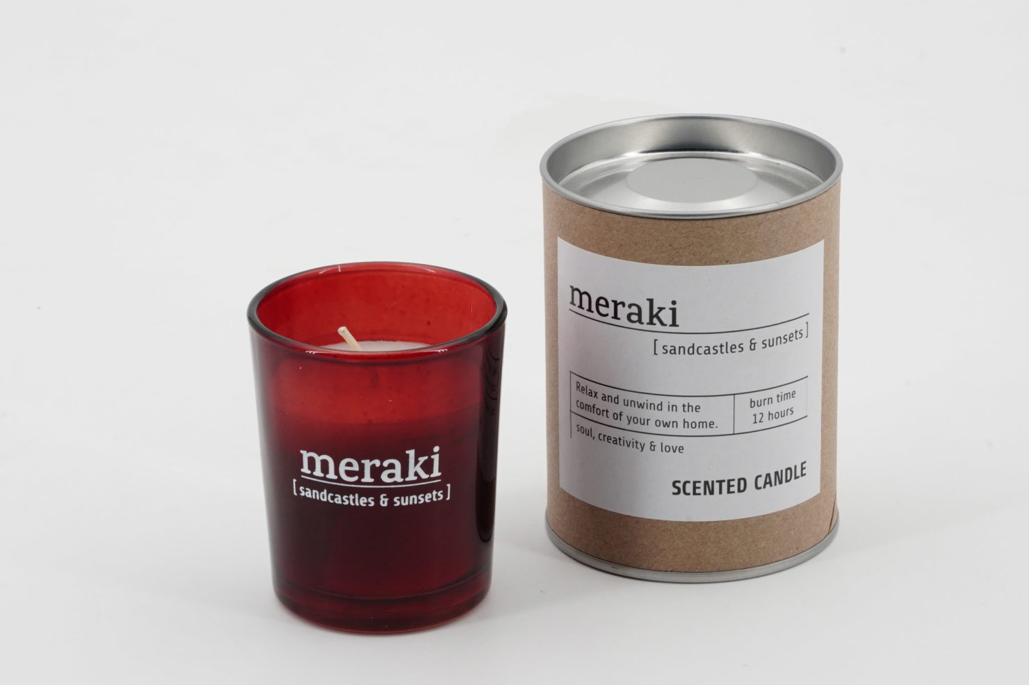 SCENTED CANDLE SANDCASTLES & SUNSETS - MERAKI