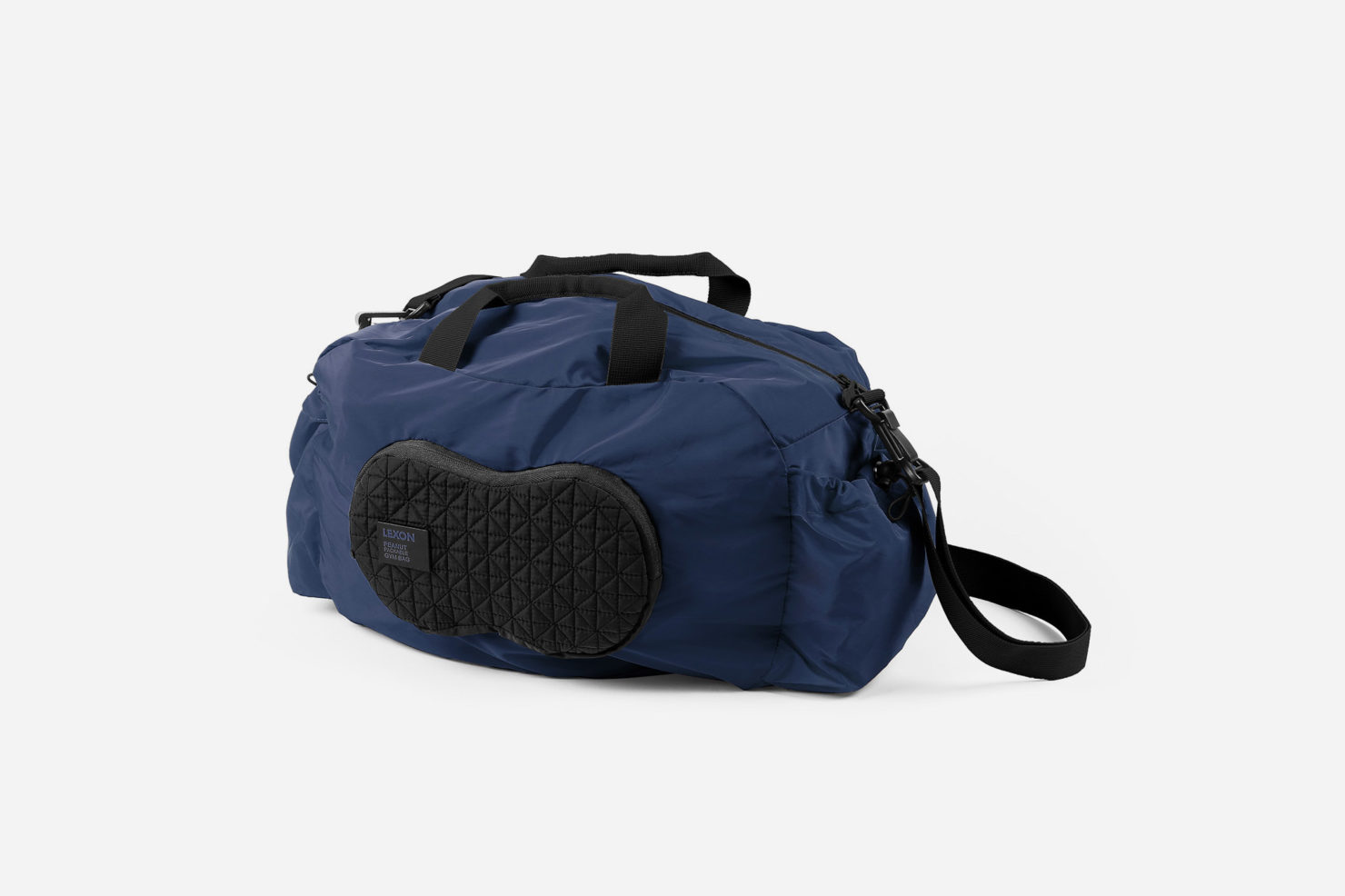 PEANUT DUFFLE NYLON BAG FOLDABLE - LEXON