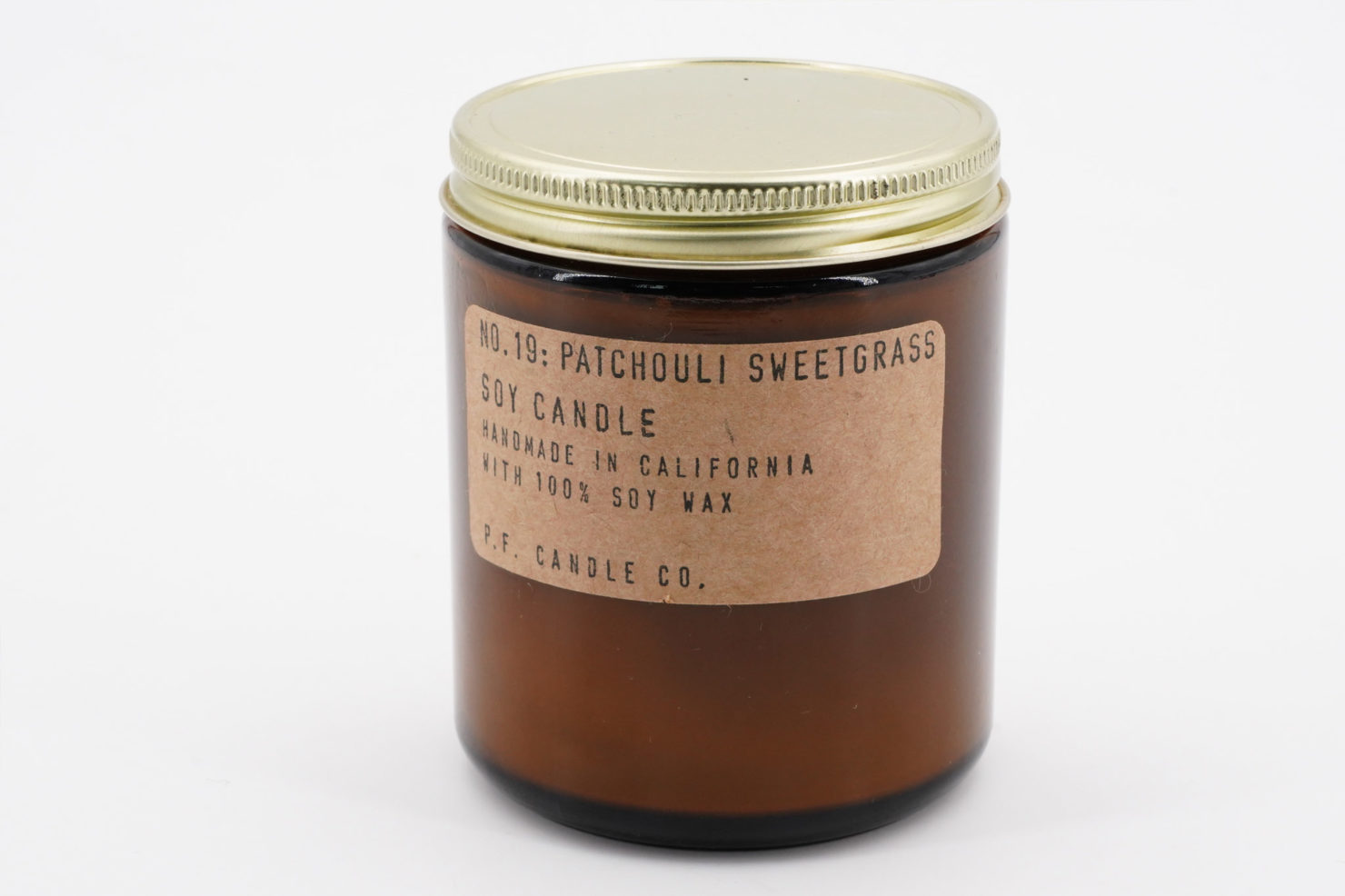 SC-PATCHOULI SWEETGRASS - P.F CANDLE CO