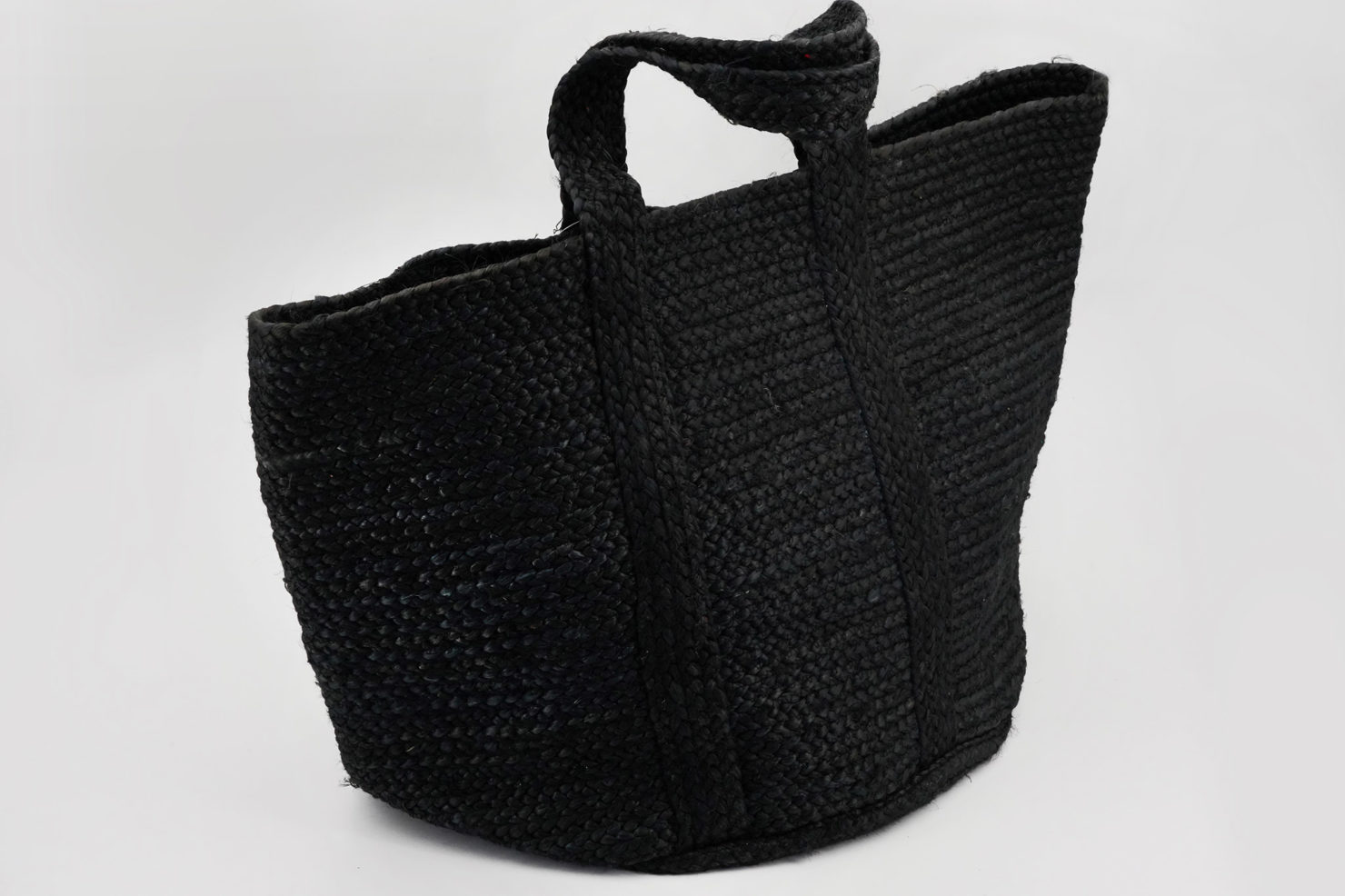 BAG JUTE, BLACK - BY ROOM
