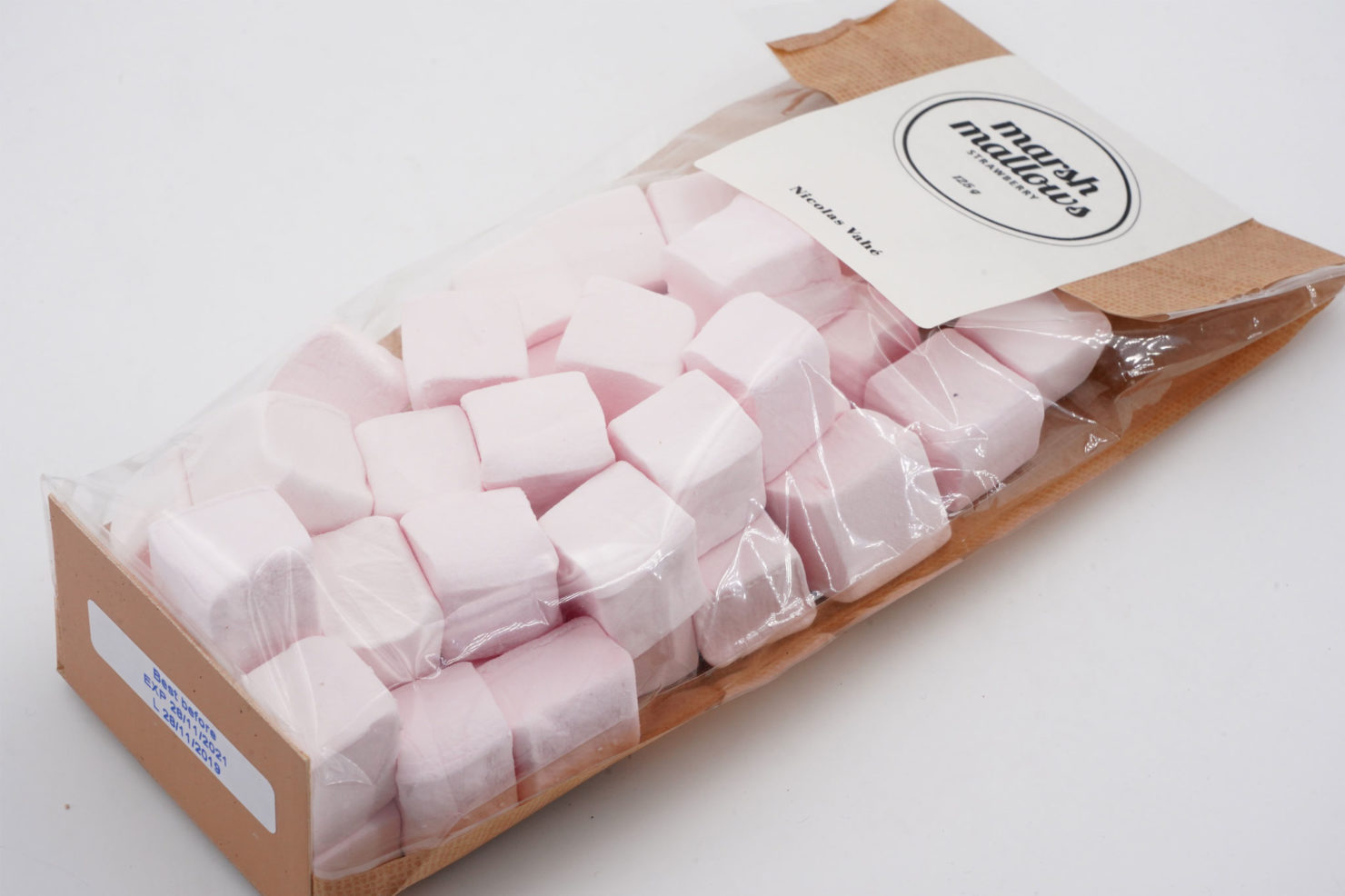MARSHMALLOWS STRAWBERRY 125 GR - NICOLAS VAHE