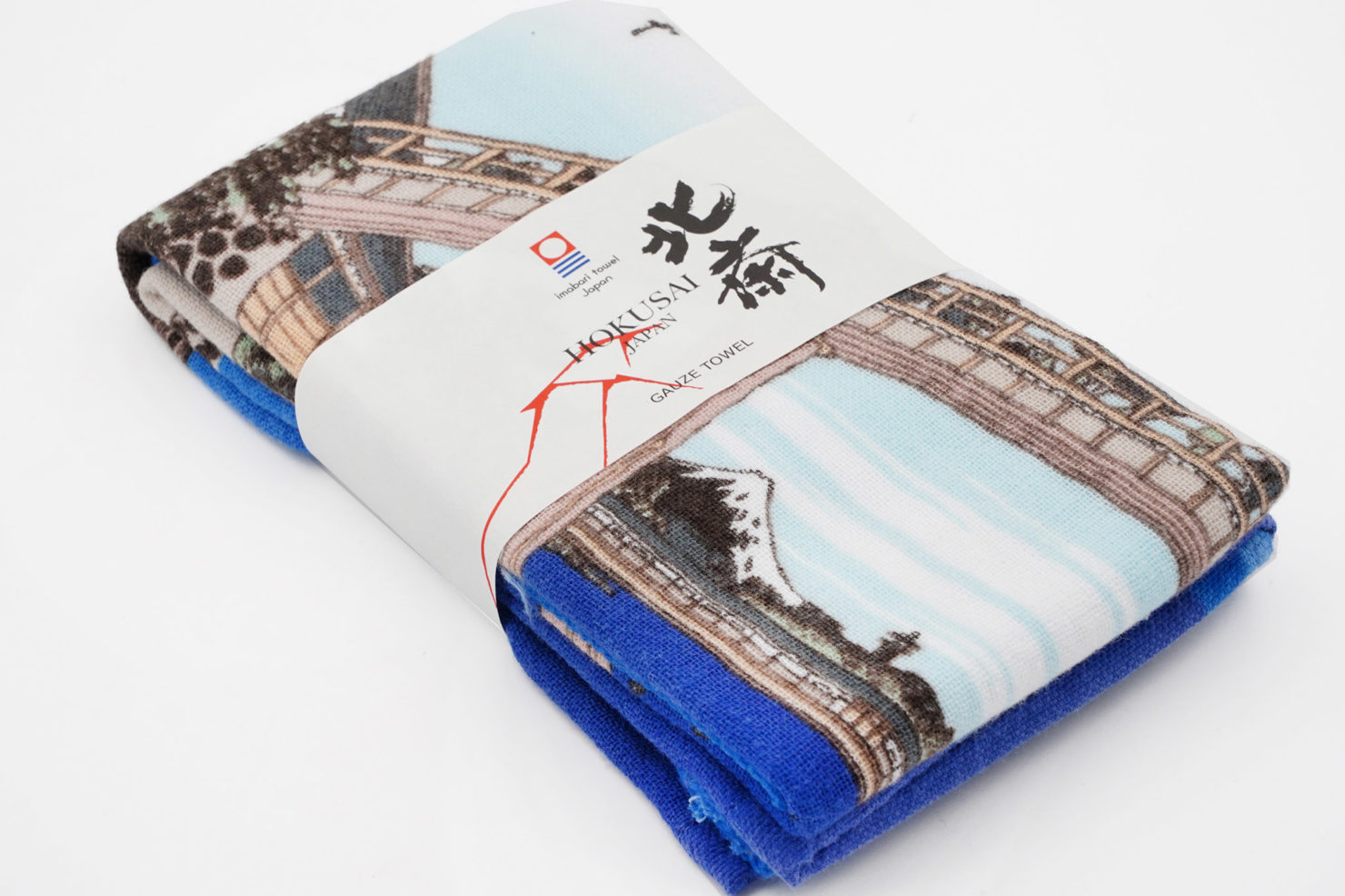 FUGAKAWA MANNEN BRIDGE FACE TOWEL - MARUSHIN