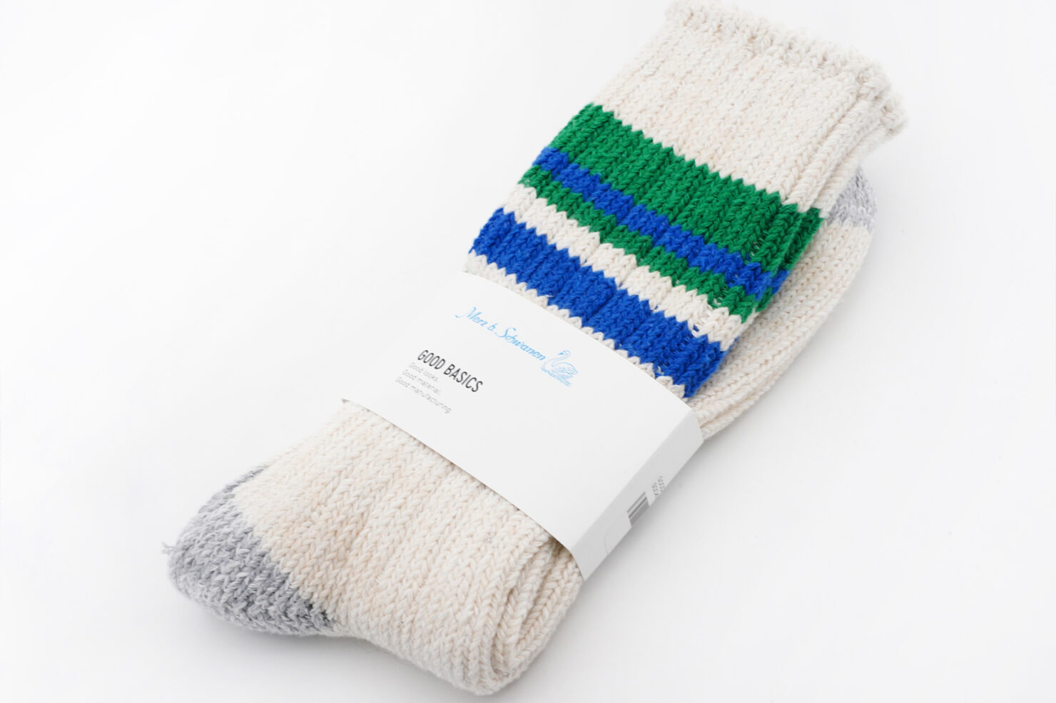 GOOD BASICS SOCKS NATURE-GRASS - MERZ B. SCHWANEN