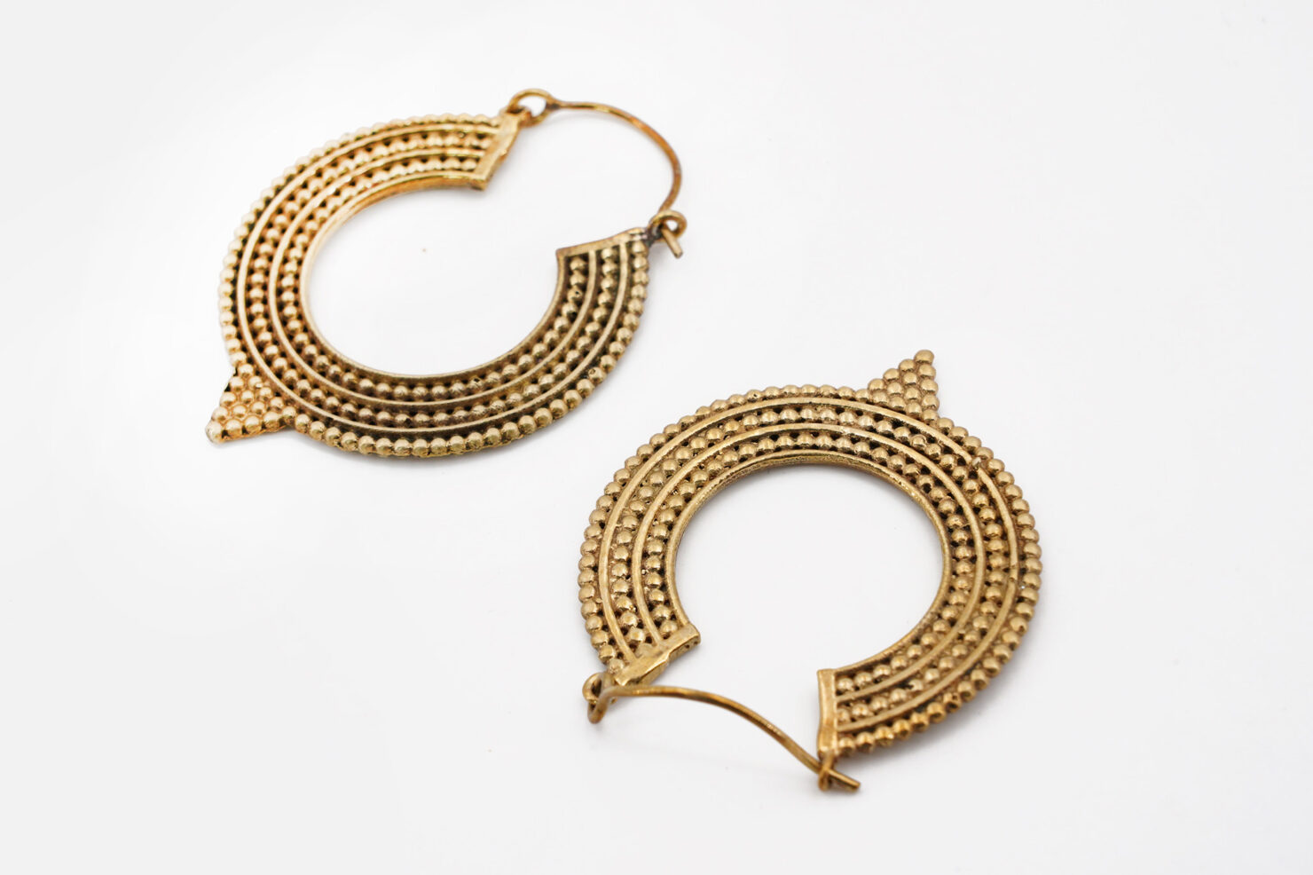 INDIAN BRASS EARRINGS - PRINCIPESSE E PIRATI