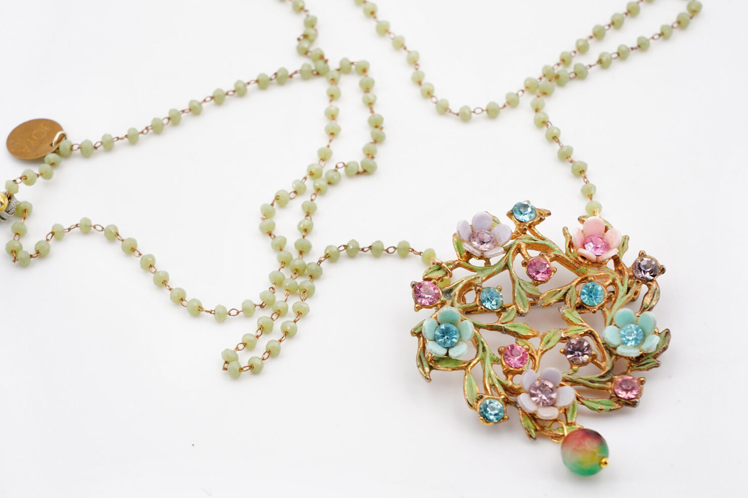 NECKLACE VINTAGE 4- JOYA