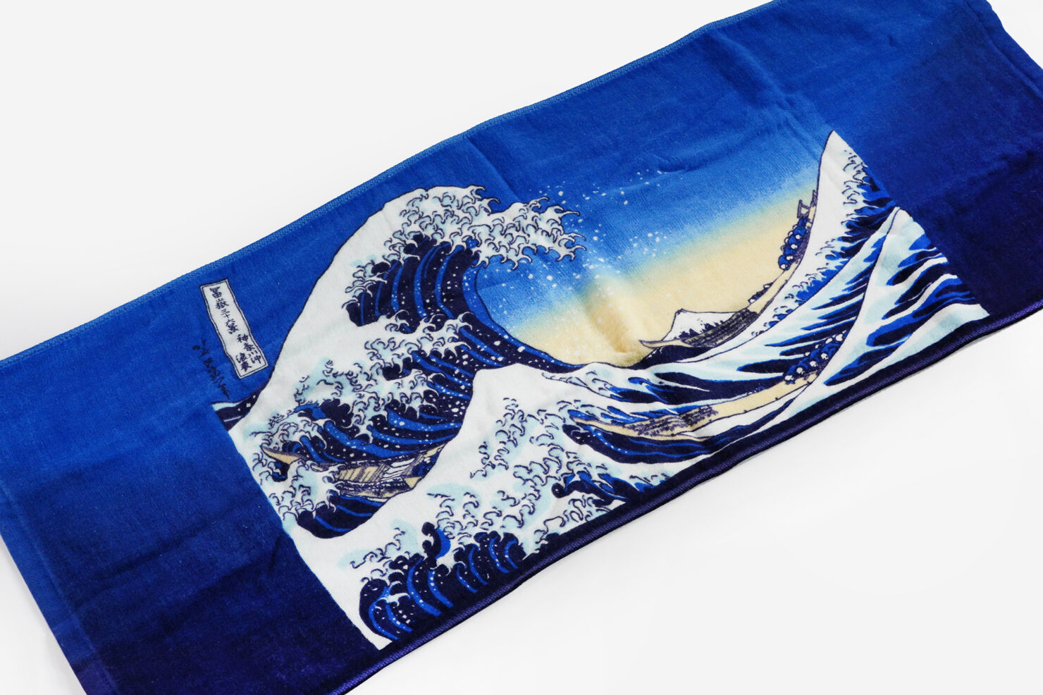 THE GREAT WAVE OF KANAGAWA FACE TOWEL - MARUSHIN