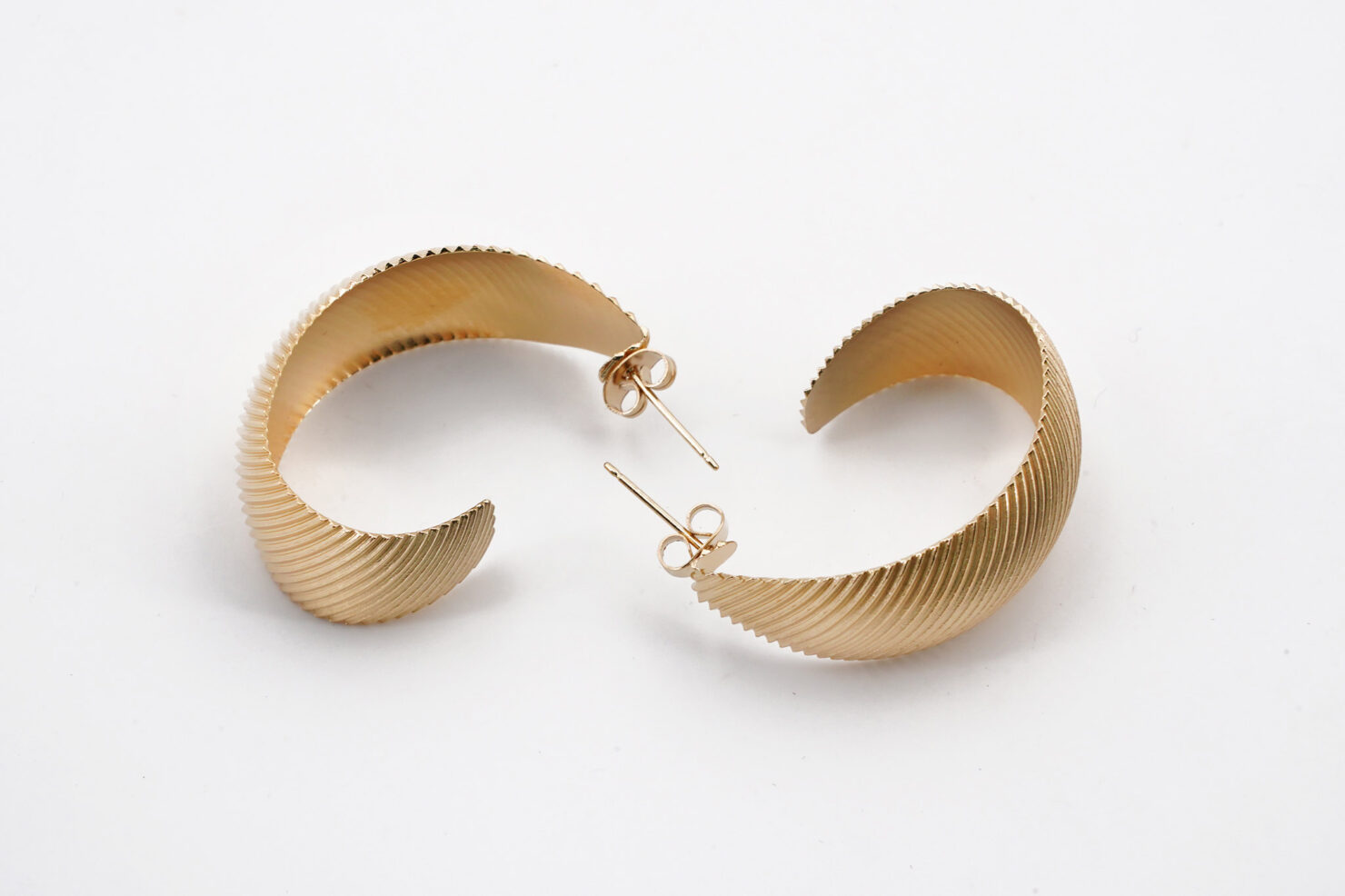 UDAIPUR HOOP EARRINGS - MEDICINE DOUCE