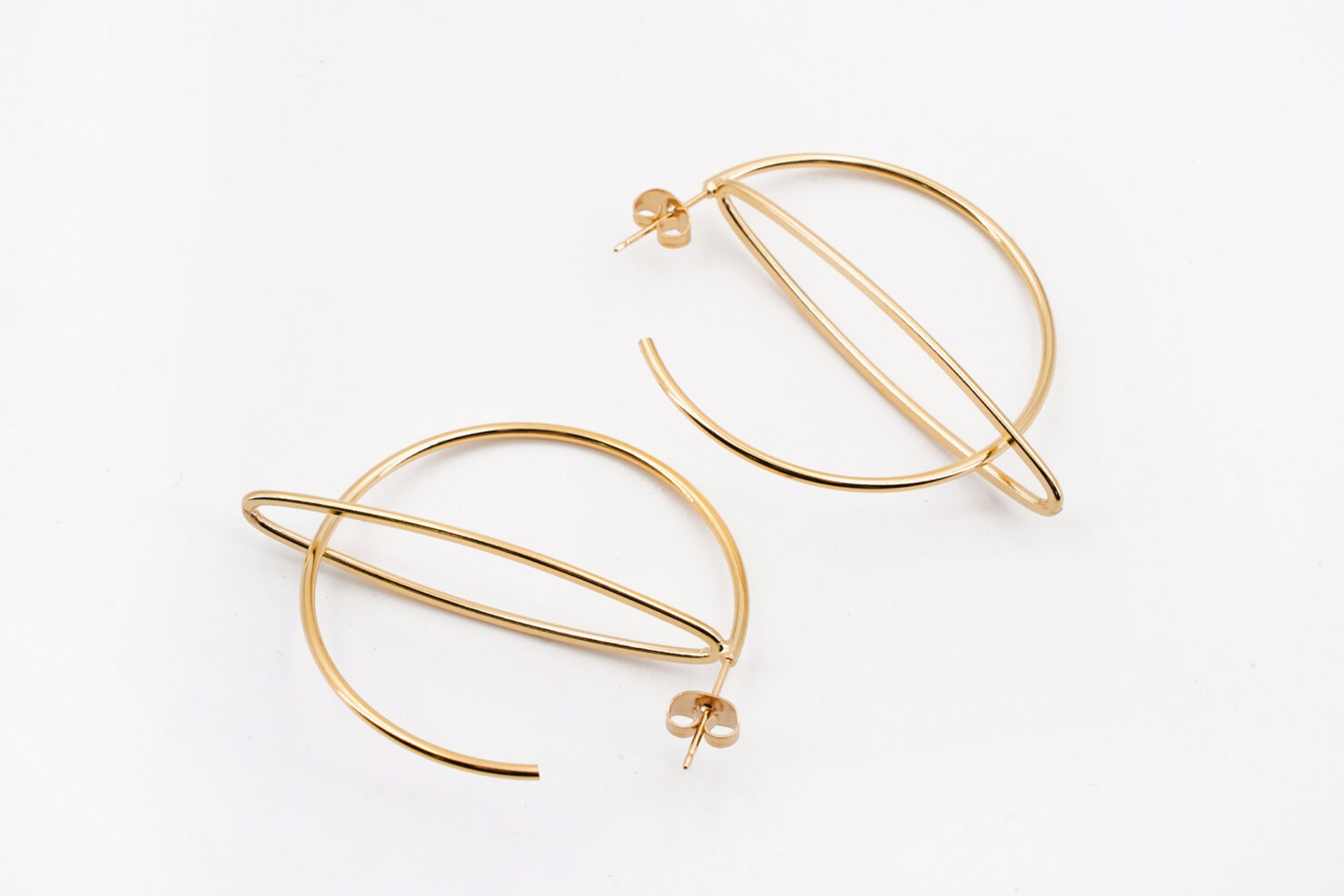 RITA HOOP EARRINGS - MEDICINE DOUCE