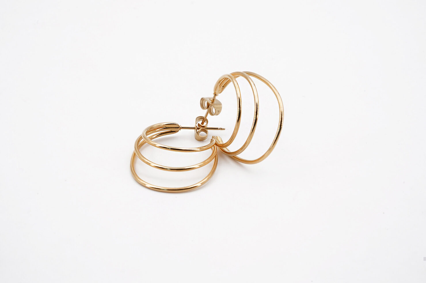 TURANDOT HOOP EARRINGS SMALL - MEDICINE DOUCE
