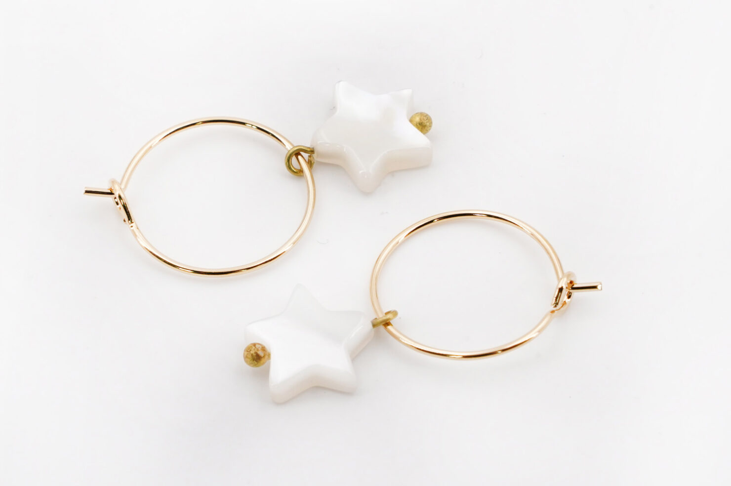 URANUS HOOP EARRINGS - MEDICINE DOUCE