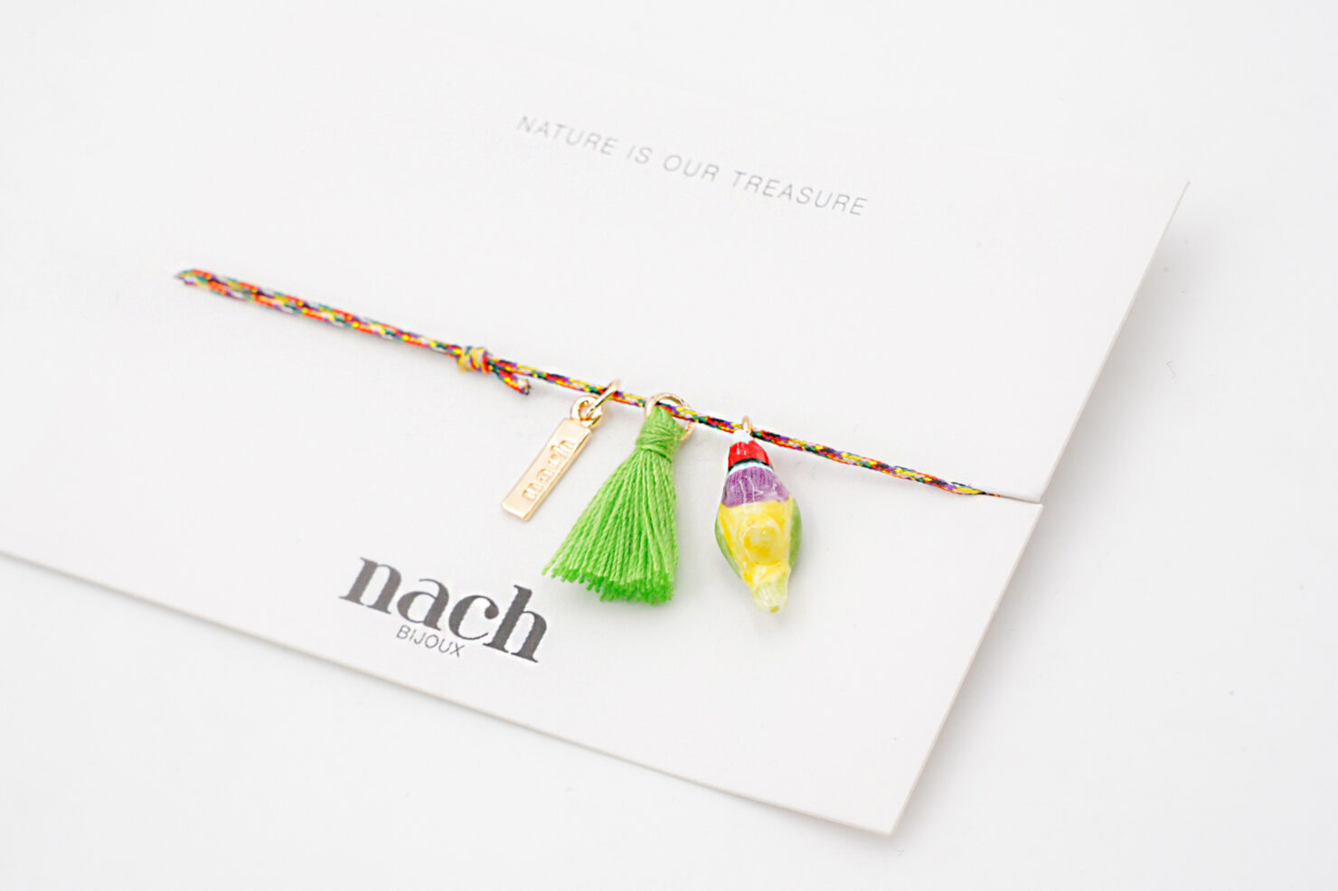 GOULDIAN FINCH BIRD MOULTICOLOR CHARM'S – NACH