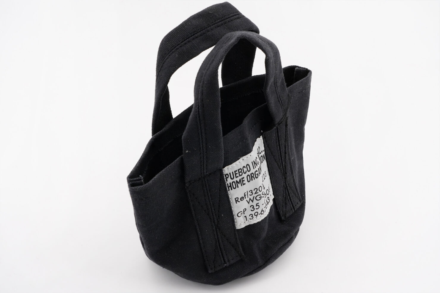 SMALL BAG BLACK - PUEBCO