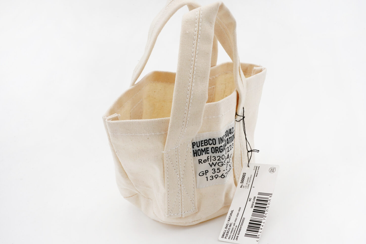 SMALL BAG WHITE - PUEBCO
