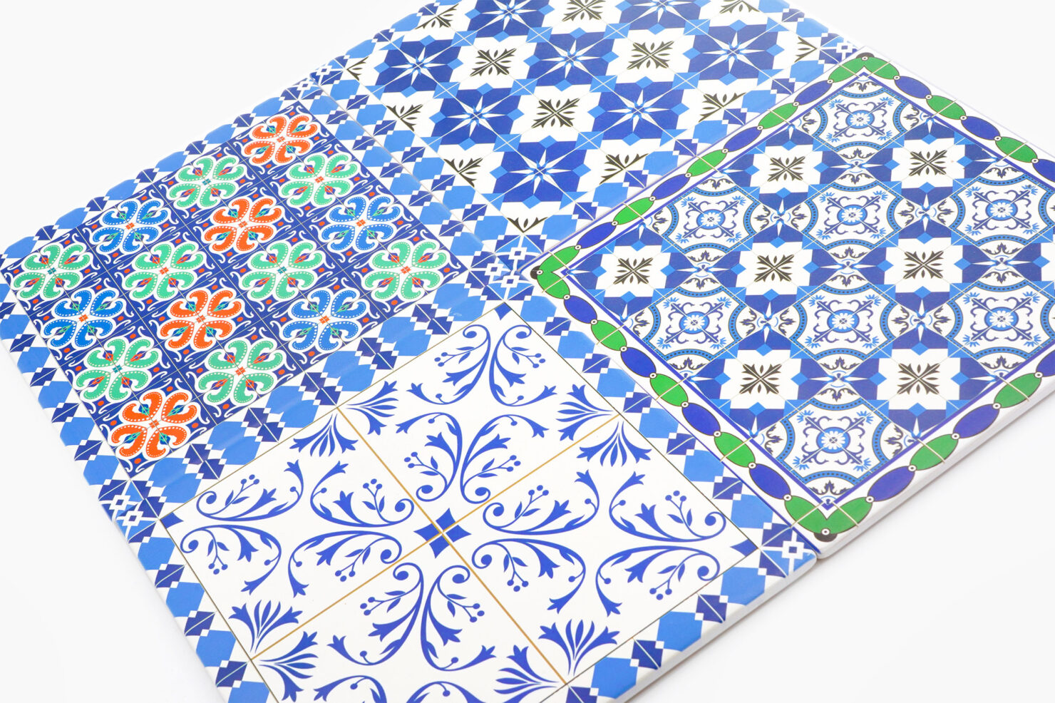 TRIVET, SQUARE, CERAMIC, MOROCCAN DESIGN - BY ROOM