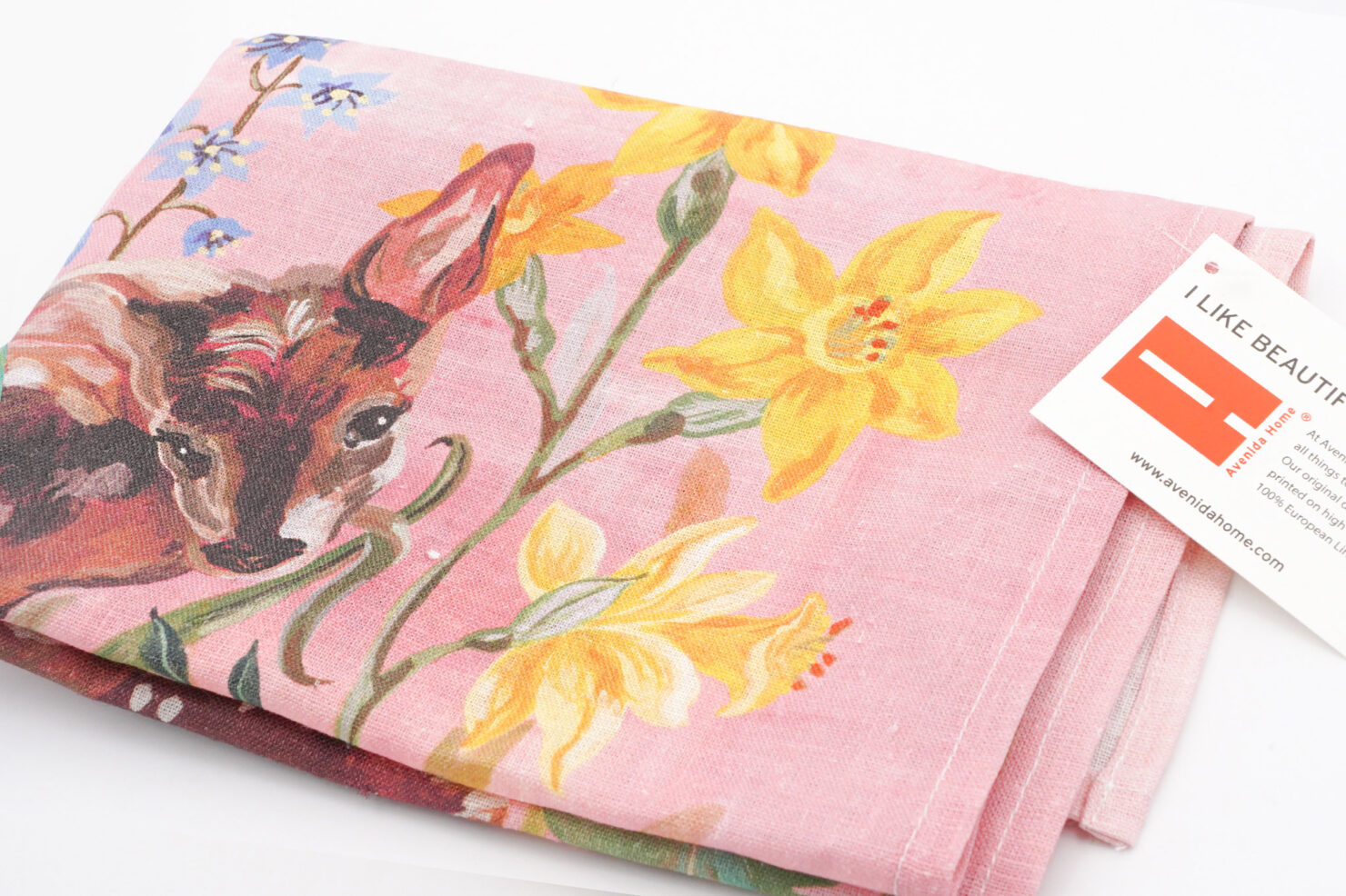 BAMBI T TOWEL KITCHEN & TABLE LINENS BY NATHALIE LETE-AVENIDA HOME