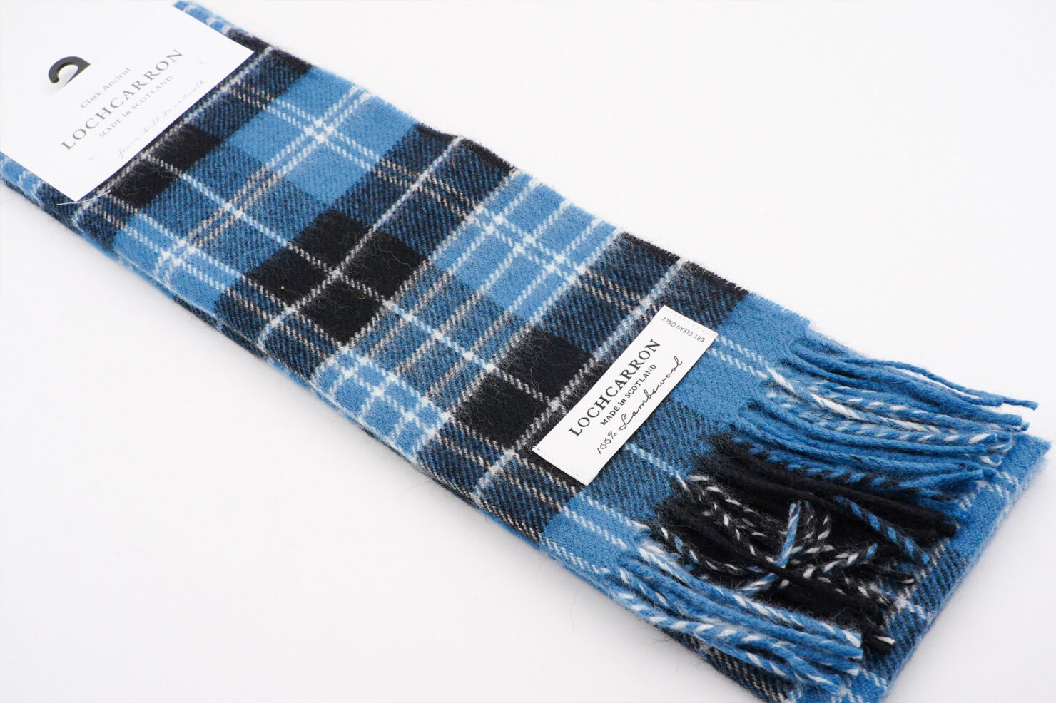 BRUSHWOOL LONG CLARK SCARF - LOCHCARRON OF SCOTLAND